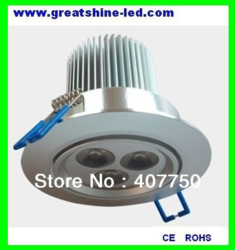 aukštos įtampos rbb dmx žemos įtampos rgb 3in1 3X3W LED lubų šviestuvas DC 12V naudojamas komerciniam apšvietimui