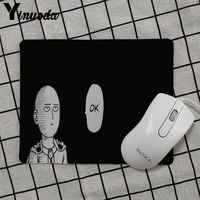 Yinuoda 2018 New One punch man Gamer Speed Mice Retail Small Rubber Mousepad Keyboard Mat Table mat anime mouse pads 2