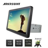 ARKRIGHT 10,1 ''1Din Авторадио gps 2 Гб системный блок Android8.1 автомобилей Радио Стерео Аудио мультимедиа плеера ips экран /с DSP