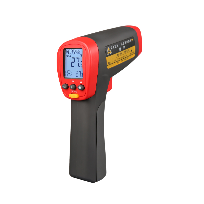 UNI-T UT303A UT303C UT303D Non-Contact Digital Thermometer IR Infrared Laser Temperature Gun Tester with lcd backligh display holdpeak hp 1320 digital laser infrared ir thermometer gun meter non contact 50 1500c temperature tester pyrometer