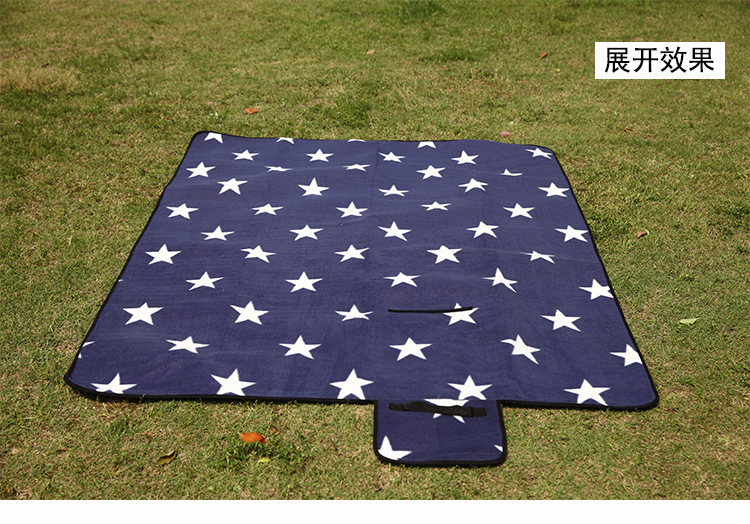 ... Picnic Blanket Rug Carpet Camping Hiking Mat Plaid Outdoor Foldable  Sand Beach Pad Free Shipping Star