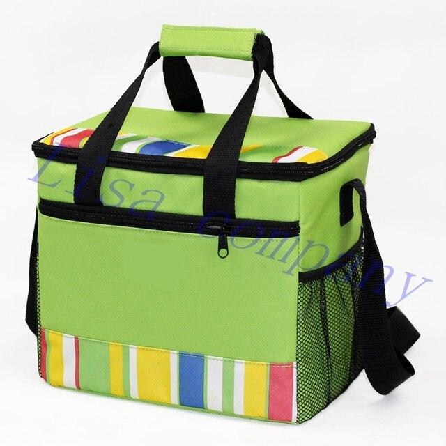 Outdoor Picnic Bag Ice Pack Cooler Insulation Bag Cooler Box Food Picnic Bag Handheld Basket Storage Camping Picnic Basket