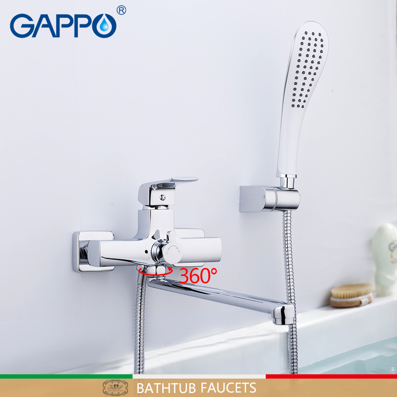 GAPPO robinet de baignoire salle de bains pluie douche mural robinet mitigeur torneira para banheira mitigeur baignoireGAPPO robinet de baignoire salle de bains pluie douche mural robinet mitigeur torneira para banheira mitigeur baignoire