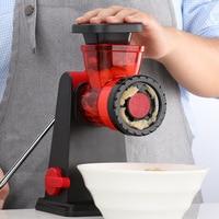 Multifunctional Home Manual Meat Grinder For Mincing Meat/Vegetable/Spice Hand cranked Meat Mincer Sausage