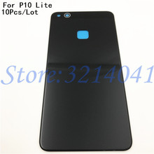 10Pcs/Lot New Original 5.2 inches Back Battery Cover For Huawei P10