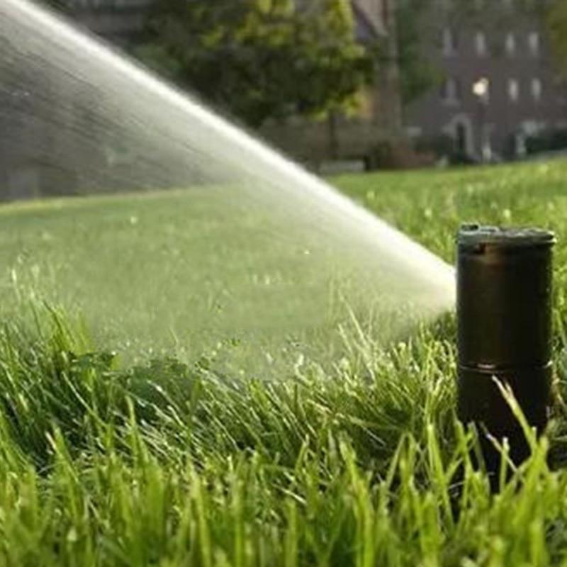 3/4 Inch 40-360 Grad Rasen Sprinkler Kopf Garten Rasen Bewässerung Spray Düse Hohe Qualität Kunststoff Material