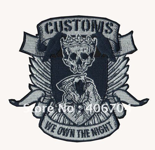 We Own The Night 100 Embroidery Patch Custom Embroidery Pattern