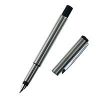 Silber Metall Vector Brunnen Stift 0,5mm Nib Full Metal Körper Stifte Business Geschenk Schreiben Kalligraphie Büro Liefert