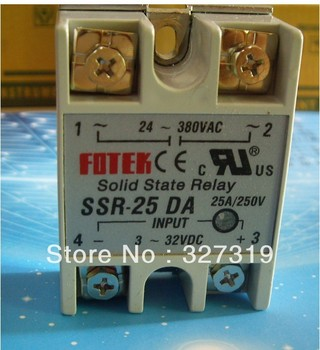 цена на 25A SSR SOLID STATE RELAY for temperature controller