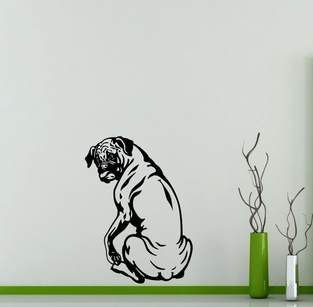Online get cheap dog wall mural alibaba for Cheap wall mural decals