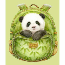 50x60cm Panda in Bag Diamond Painting 5D DIY Cross Stitch Full Round Square Home Decoration Mosaic Picture Gift  New Arrivals