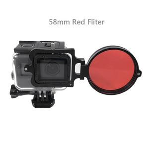 Image 3 - מתחת למים עדשה מסנן אדום מסנן 16X מקרוב עדשה 16 פעמים מאקרו עדשה לgopro גיבור 7 6 5 פעולה מצלמה צלילה אבזרים