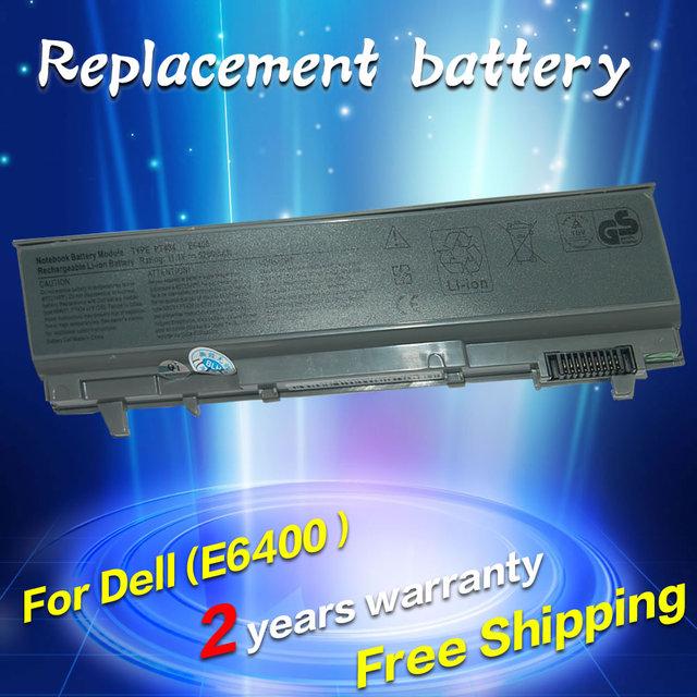 Jigu batería del ordenador portátil para dell latitude e6400 m2400 e6500 e6410 e6510 m4400 m4500 m6400 m6500 1m215 312-0215 312-0748 312-0749