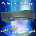 Jigu bateria do portátil para dell latitude e6400 m2400 e6500 e6410 e6510 m4400 m4500 m6400 m6500 1m215 312-0215 312-0748 312-0749