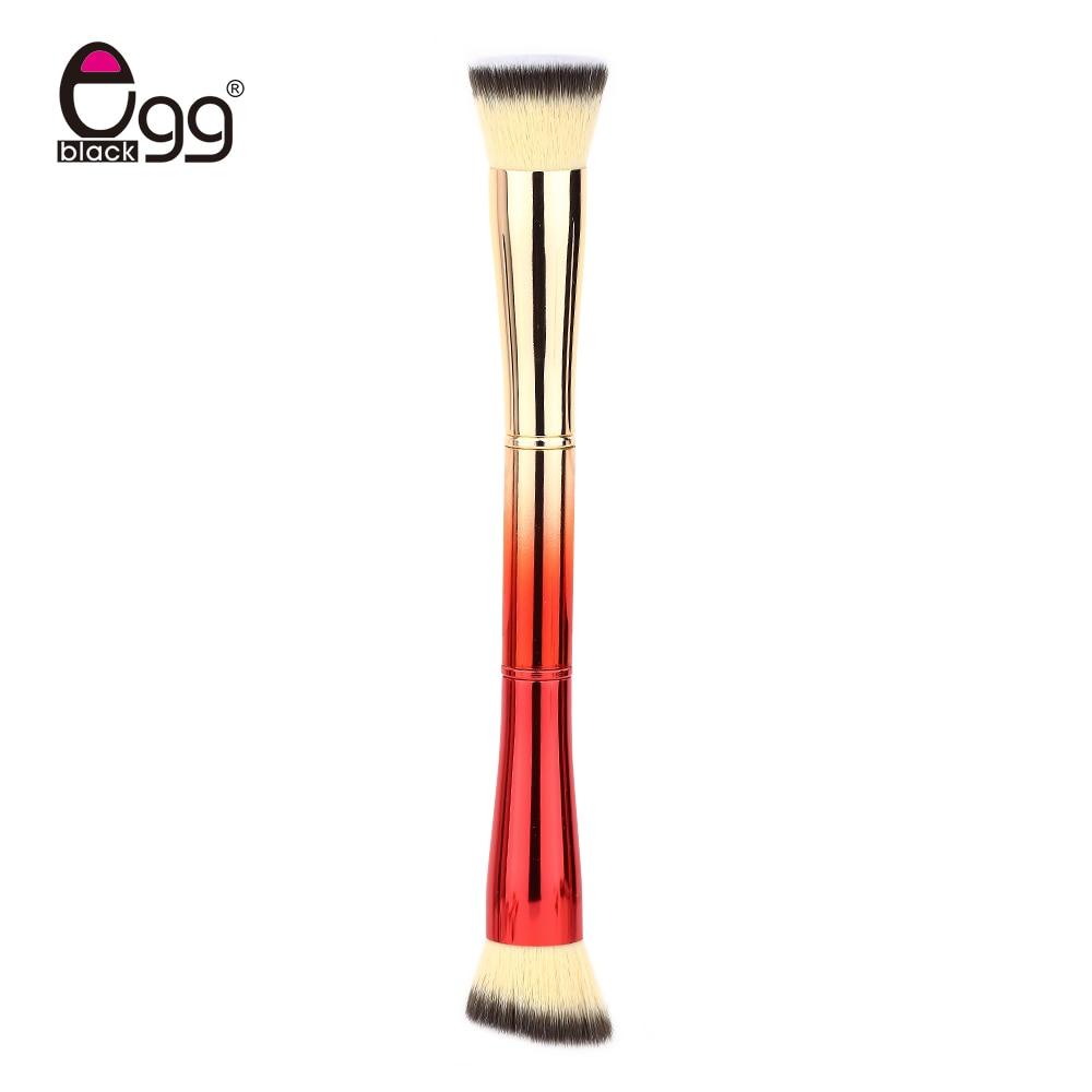 1PC Oblique Style Foundation Brush 1PCS professional Large Flat Top Liquid Makeup Brush Be