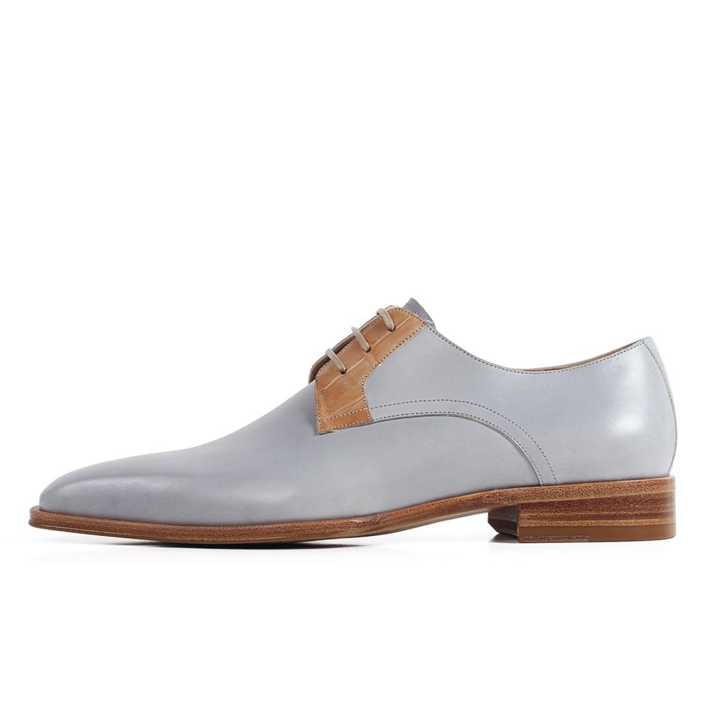 Blake Bout Formelle Mariage Derby Bureau Habillées De Lacets Chaussures En Vikeduo Picture Carré Chaussures As Véritable Hommes E up Plat Zapato Hombre Cuir TuOPkXZi