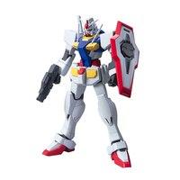1 STKS Anime Mobiele pak HG 1:144 Transformable 0 Gundam GN-000 model kids toy action figure gemonteerd Robot RX-78 puzzel gift