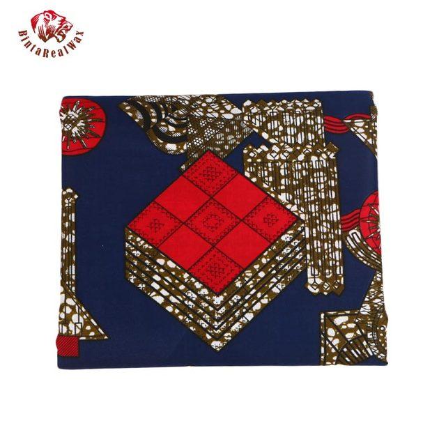100% Polyester Wax Prints Fabric 2018 Ankara Super Hollandais Wax High Quality African Fabric for Party Dress PL584 3