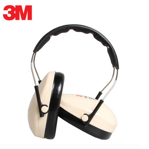3M H6A/V Earmuffs Optime Behind-the-Head Earmuffs Hearing Conservation Anti-noise Hearing Protector for Drivers/Workers AAA000 3m h6p3e cap mount earmuffs hearing conservation h6p3e ultra light with liquid foam filled earmuff cushions e111