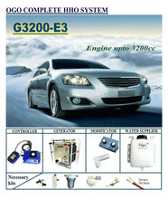 Ogo Compleet Hho Systeem G3200 E3 Smart Pwm Kaart/Maf Tot 3200CC