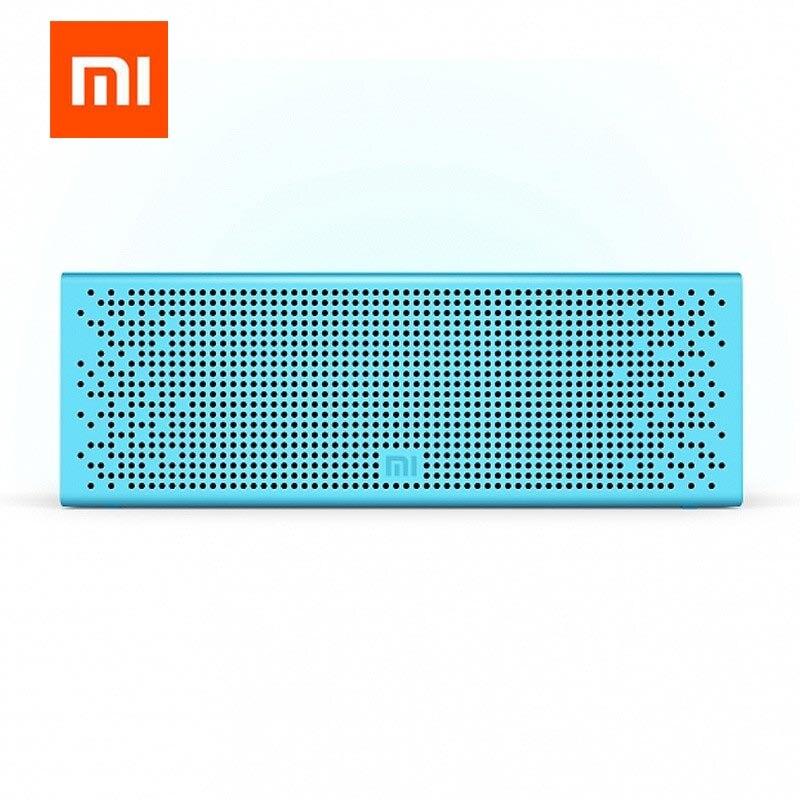Xiaomi Bluetooth haut-parleur Support aux-in 3.5mm micro-sd carte Bluetooth métal Texture portable et haut-parleur en alliage d'aluminium