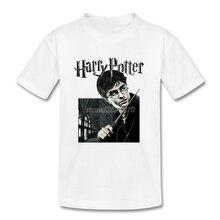 Cotton Custom Harry Potter Shirts Boy Hogwarts Girls Top Meninos roupas Camisa Meninas(China (Mainland))