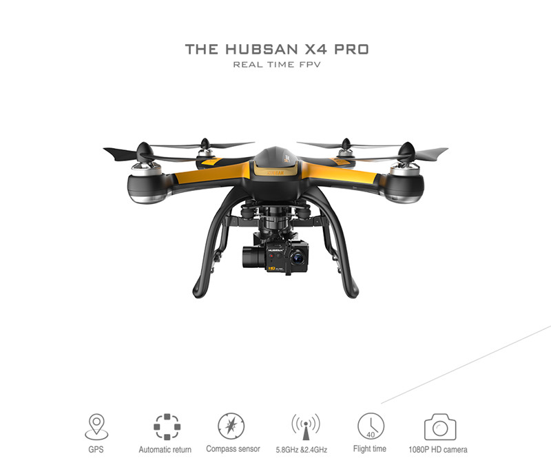 Original Hubsan X4 Pro H109S High & Standard Edition 5.8G FPV RC Drone With 1080P HD Camera 3 Axle Gimbal GPS Quadcopter RTF