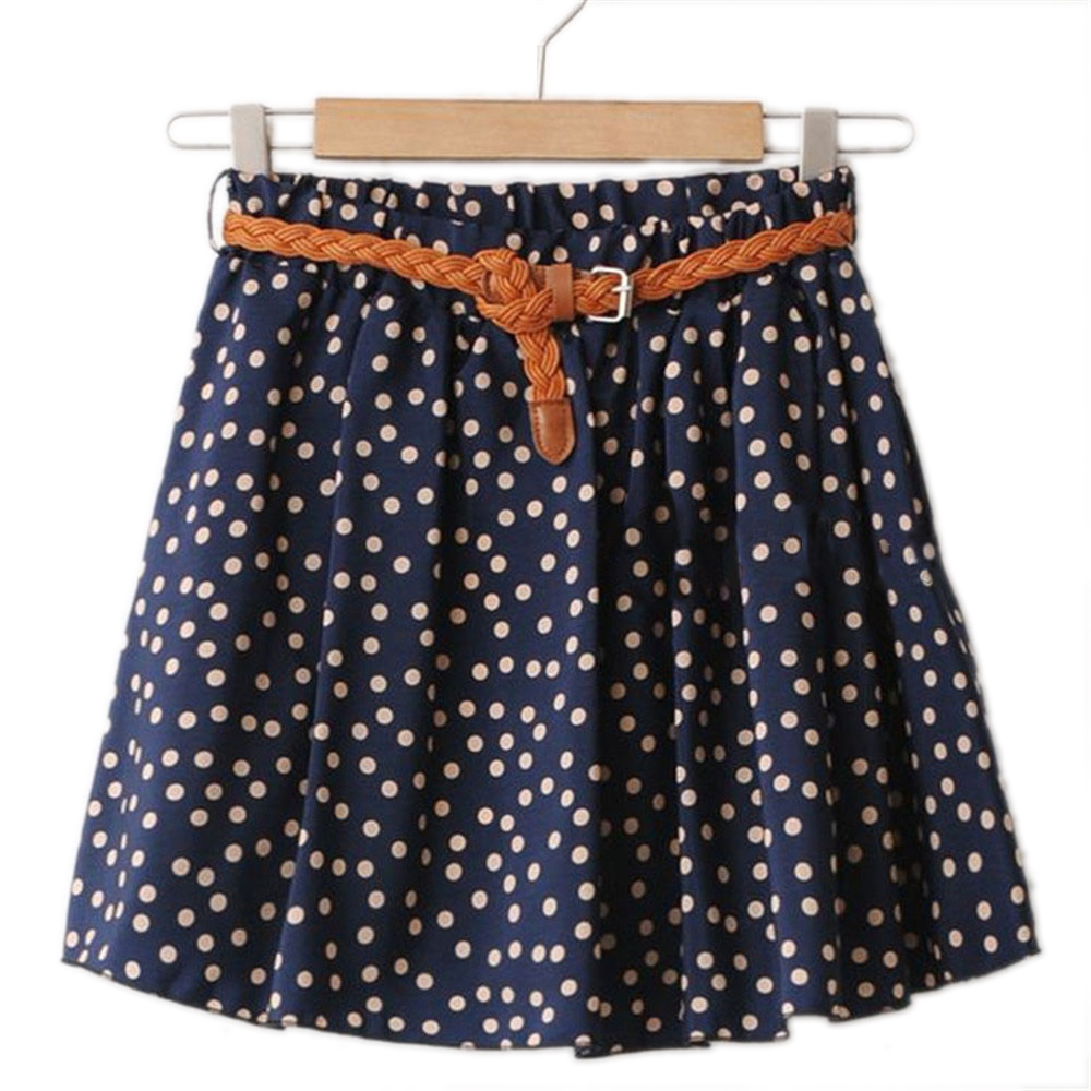 2017 SUMMER STYLE WOMEN SKIRT SAIA CASUAL CUTE ABOVE KNEE MINI SHORT SAIAS CHIFFON SKIRTS GIRLS