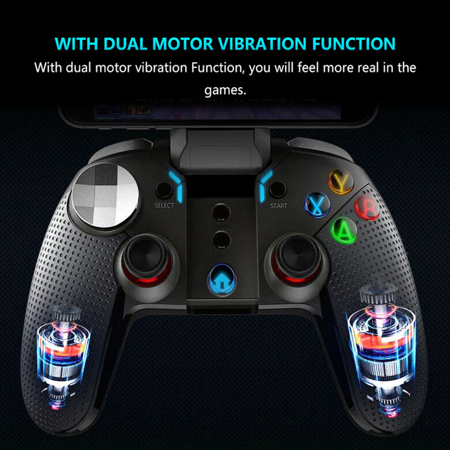 iPega PG 9099 Wireless Gamepad Android Phone for Ps3 Controller Bluetooth Joystick Gaming P3 Dual Motor Vibration Turbo Game Pad 5