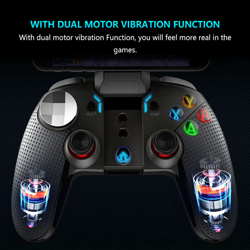 iPega PG 9099 Wolverine Phone Gamepad Android Bluetooth Joystick Gaming P3  Controller for Ps3 Dual Motor Vibration Turbo