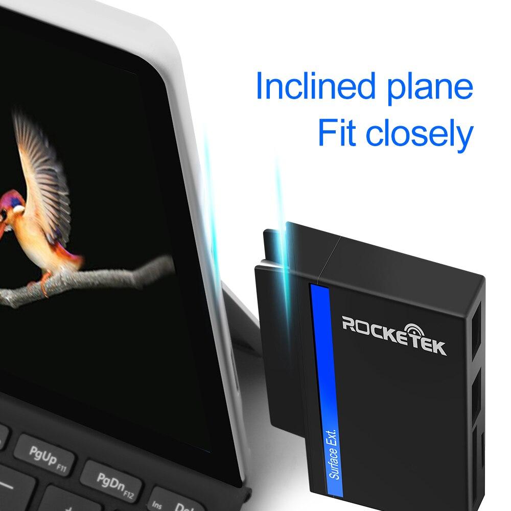 Image 4 - Rocketek USB type C 3,0 или 2,0 адаптер для чтения карт памяти для SD/TF micro SD Microfoft Surface go Hub компьютерные аксессуары-in Считыватели карт памяти from Компьютер и офис