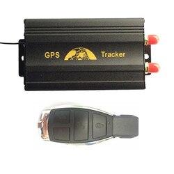 COBAN GPS103B GSM/GPRS/GPS Auto vehículo TK103B GPS Tracker dispositivo de seguimiento con Control remoto sistema de alarma antirrobo de coche