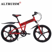Altruism X7 Aluminum 7 Speed 20 Inch Kid S Mountain Bike For Boys Girls Bicycles Double