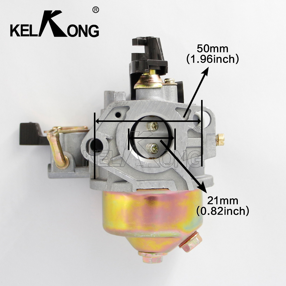 KELKONG Carburetor for HONDA GX240 GX270 Carburador Carb W/Gasket Replace 16100-ZE2-W71 1616100-ZH9-820 Lawn Mower Engine