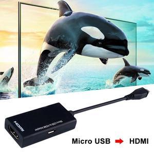 Image 4 - Câble Audio vidéo USB vers HDMI 1080P HD pour adaptateurs de convertisseur HDTV pour Samsung Huawei tablette de téléphone Android