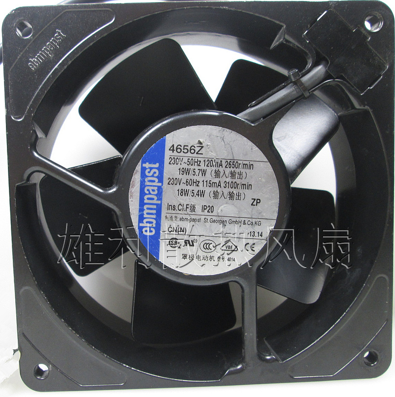 Free Delivery.12038 230V 4656Z 19 / 5.7W all iron high temperature cooling fan gdstime 5pcs 12038 dc 12v 120mm dual ball cooling fan with iron net high pressure and high temperature 2pin 120mmx38mm 12cm