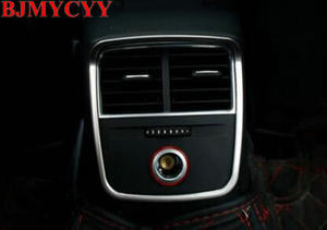 Image 5 - BJMYCYY Rear Air Outlet Stickers Sequin Decoration For Audi A3 8V Sedan Sportback 2013 2014 2015 2016 Auto Accessories Cover