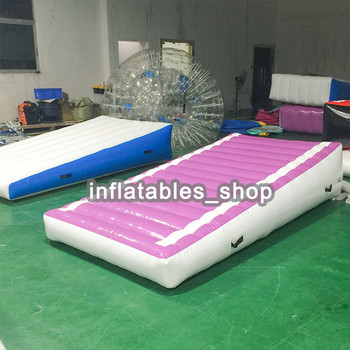 Free shipping Factory Price High Quality Hand Made Cheap Soft Landing Ramp Mat Tumble Track Inflatable