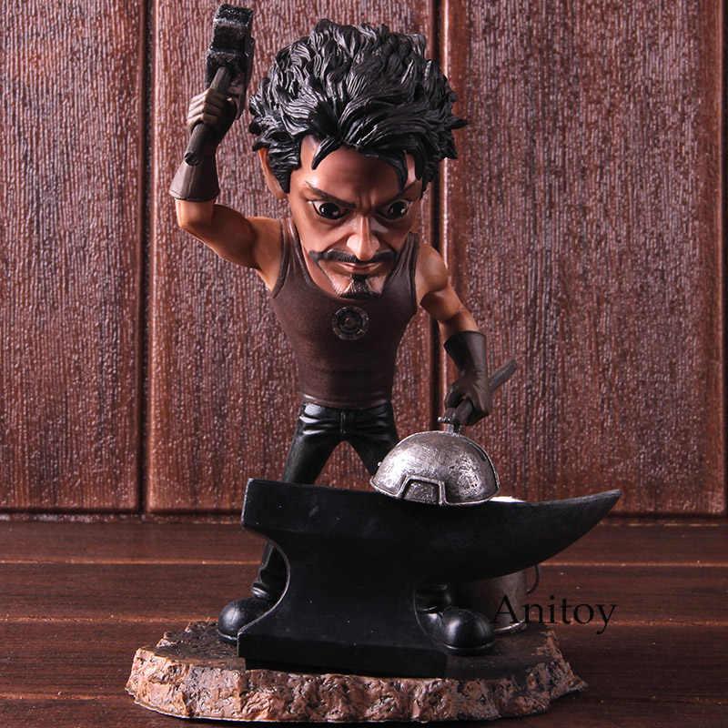 أعجوبة المنتقمون مبادرة الرجل الحديدي توني ستارك PVC الرجل الحديدي تمثال الشكل العمل النادرة لعبة مجسمة