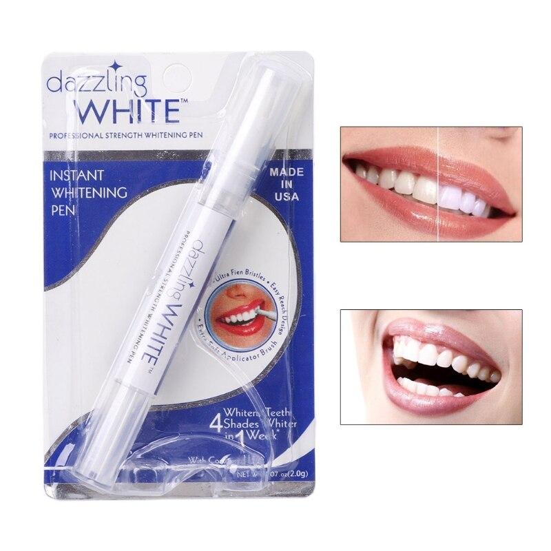 Ослепляющая белая отбеливающая ручка для отбеливания зубов, набор для отбеливания зубов, гигиена полости рта, зубная паста