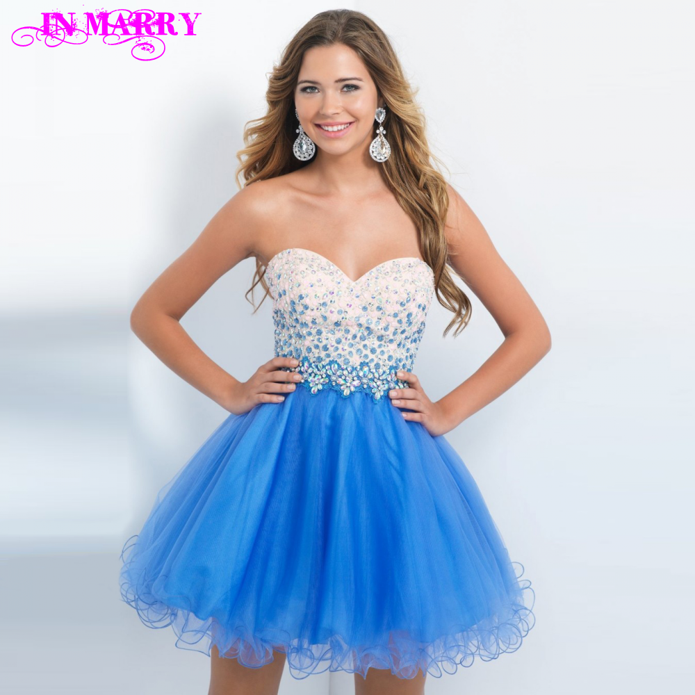 Light Dresses Damas Salient Junior Graduation: Popular Light Blue Prom Dress-Buy Cheap Light Blue Prom