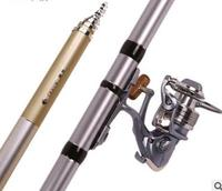 Long section carbon rod small ring fishing rod 8 9 10 11 12meters fishing rod carbon super hard sea pole rod set