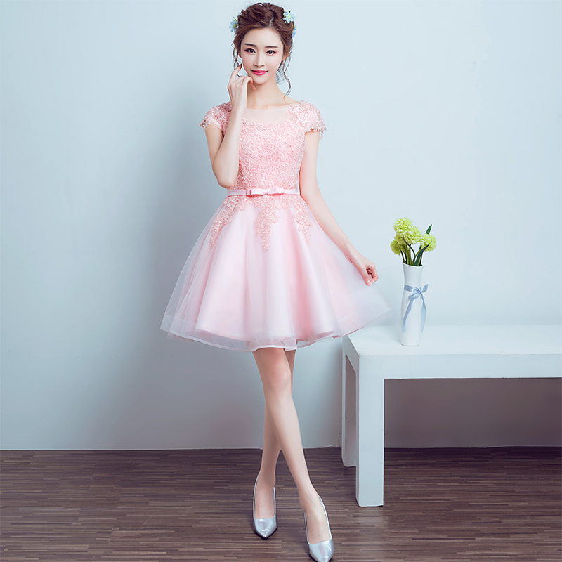 Compare Prices on Light Pink Cocktail Dresses- Online Shopping/Buy ...