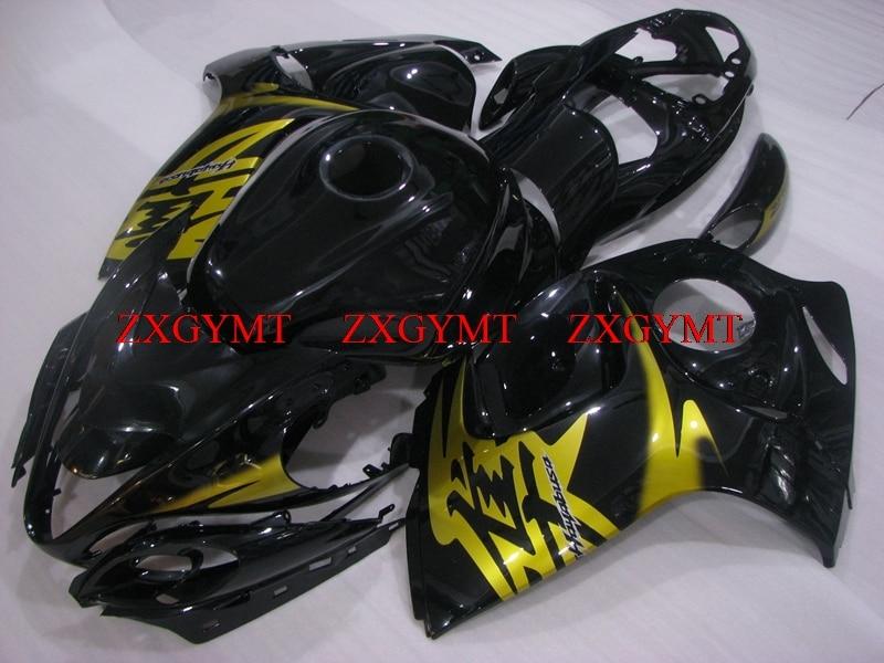 Fairing for Gsx 1300R 2008 - 2014 Plastic Fairings GSX R1300 2013 Gold Black Full Body Kits for Suzuki GSXR1300 2009Fairing for Gsx 1300R 2008 - 2014 Plastic Fairings GSX R1300 2013 Gold Black Full Body Kits for Suzuki GSXR1300 2009