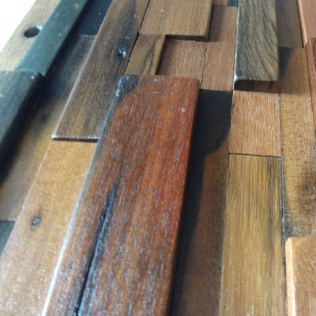 3d Streifen Holz Mosaik Fliesen Kuche Backsplash Fliesen Alte Holz