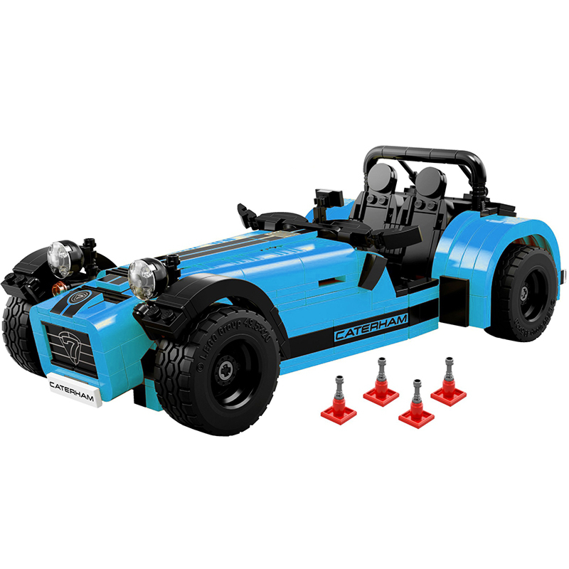 Decool 8612 Caterham Seven 620R building bricks blocks Toys for children boys Game Model Car Gift Compatible with Lepin 21307 lepin 22001 imperial flagship building bricks blocks toys for children boys game model car gift compatible with bela decool10210