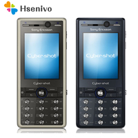K810C 100% Original Unlokced Sony Ericsson K810 Mobile Phone 2G Bluetooth 3.15 MP Camera FM Unlocked Cell Phone Free shipping