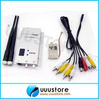 FPV системы 1.2 ГГц 1.3 ГГц 1000 МВт 4 канала Беспроводной передатчик и 12 канальный приемник профессиональный набор Бесплатная доставка