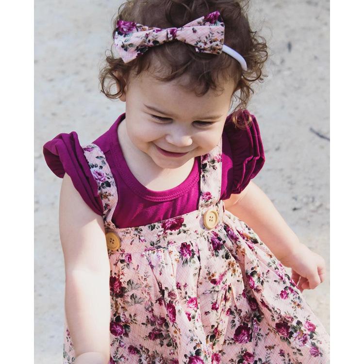 HTB1hNjxlP3z9KJjy0Fmq6xiwXXaP - 1-4y Summer Children Clothing Floral Girl Skirt Cotton Cute Toddler Suspender Skirts for Baby Girls Clothing