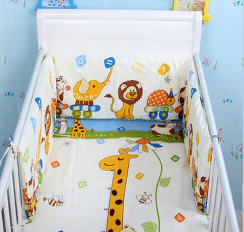Baby Bed Bumper Breathable Soft  Baby Cot Bumper Cotton Character Printing Infant Newborn Prevent Crash Baby Bed Bumper BeddingBaby Bed Bumper Breathable Soft  Baby Cot Bumper Cotton Character Printing Infant Newborn Prevent Crash Baby Bed Bumper Bedding